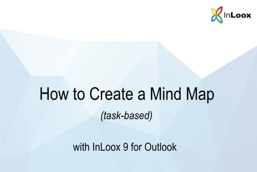Inloox 9 For Outlook How To Create A Mind Map Task Based Inloox
